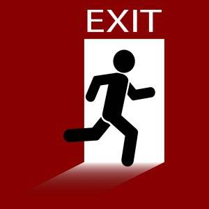 Looking for the exit