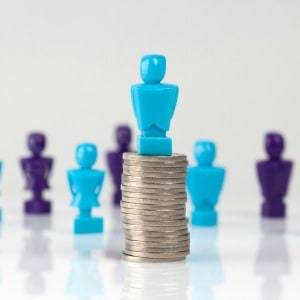 The finance and insurance services sector recorded the largest gender pay gap of any sector at 33 per cent, a new report showed.